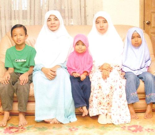 Keluarga YAB Dato' Seri Ir. Hj Mohd Nizar Jamaluddin